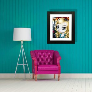 Alice in Wonderland special edition art print by de Shan