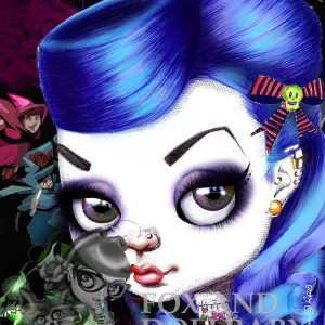 Bad Aurora special edition art print by de Shan