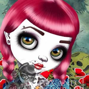 Bad Dorothy special edition art print by de Shan