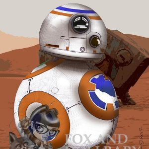 BB-8 Special Edition Art Print
