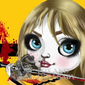 Beatrix from Kill Bill Special Edition Art Prin