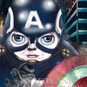 Captain America Special Edition Art Print