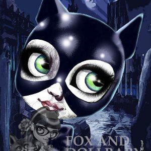 cat woman michelle pfieffer art print