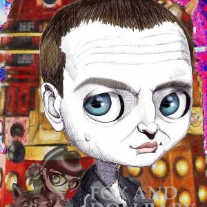 CHRISTOPHER ECCLESTON Special Edition Art Print