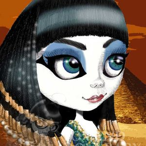 pop print cleopatra