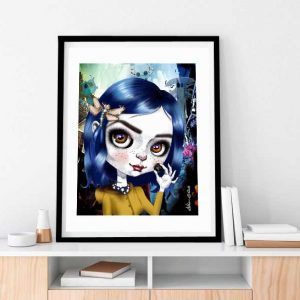 Coraline special edition art print by de Shan