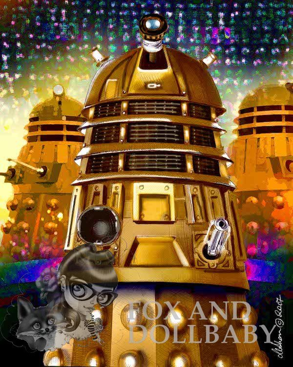 Dalek Special Edition Art Print