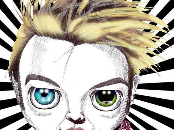pop art David Bowie print