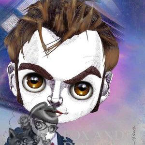DAVID TENNANT Special Edition Art Print