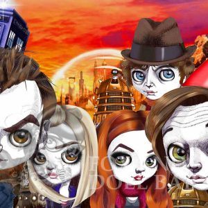 Dr Who limited edition prints