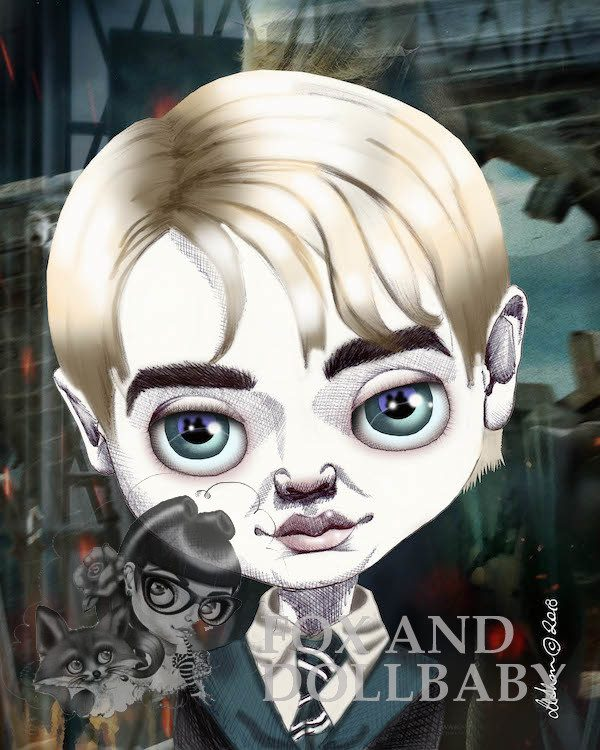 Draco Malfoy Special Edition Art Print