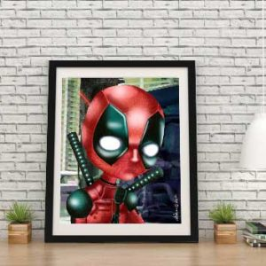 Deadpool special edition print by de Shan