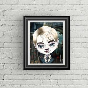 Draco Malfoy special edition art print by de Shan
