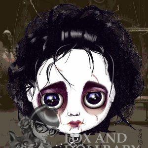 Edward Scissorhand Special Edition Art Print