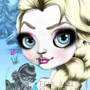 Elsa Special Edition Art Print