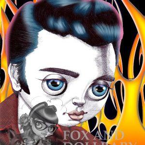 Elvis King of Pop Special Edition Art Print