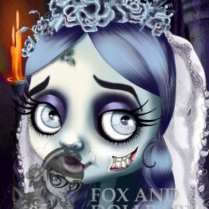 Emily the Corpse Bride special edition art print by de Shan