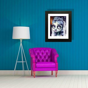 Emily Corpse Bride special edition art print by de Shan