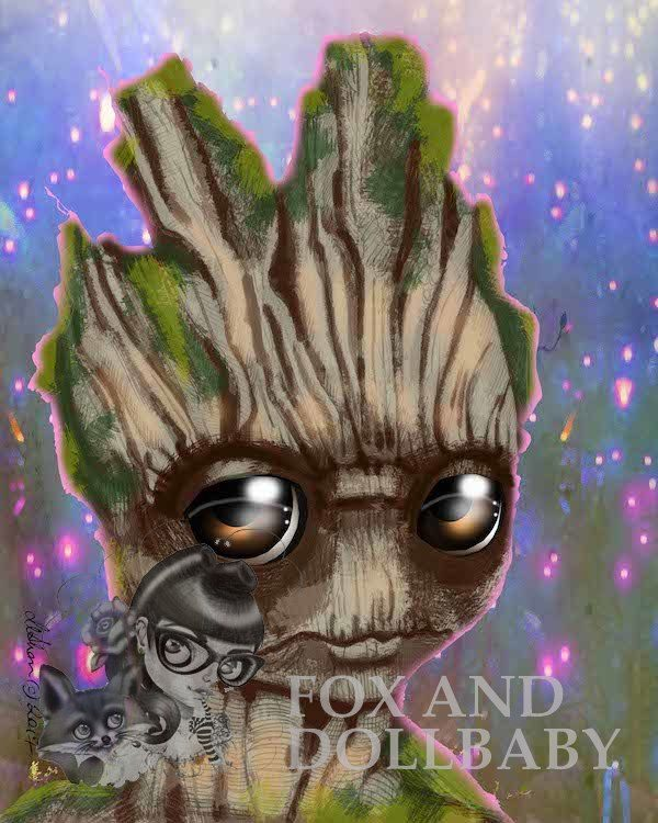 Groot Special Edition Art Print