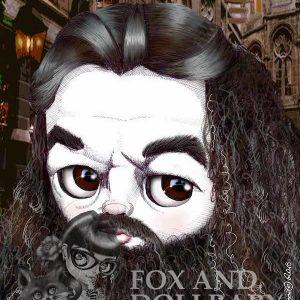 Hagrid special edition print by de Shan