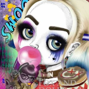 Harley Quinn Bubble Gum