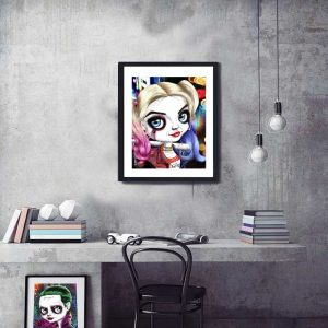 Harley Quinn with Baseball Bat special edition print by de Shan