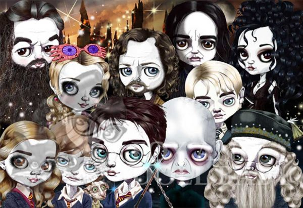 harry potter limited edition print