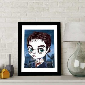 Harry Potter special edition art print by de Shan