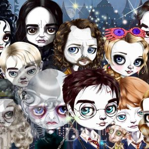 pop surrealism print harry potter limited edition