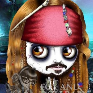 Jack Sparrow Special Edition Art Print