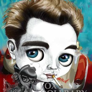 James Dean special edition art print