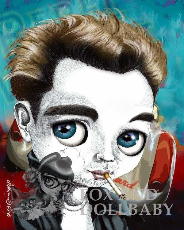 James Dean special edition art print