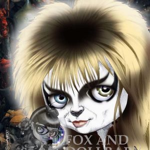 Jareth, the Goblin King From the Movie Labyrinth Special Edition Art Print