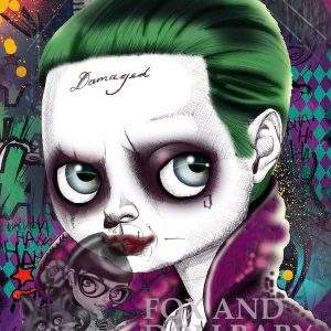Jared Leto as The Joker special edition art print by de Shan