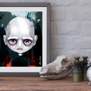 Lord Voldemort special edition print by de Shan
