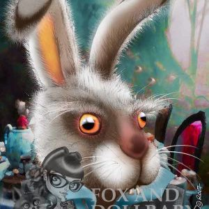 The March Hare special edition art print by de Shan