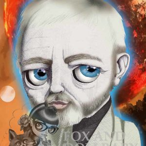 Obi Wan Kenobi from Star Wars special edition art print by de Shan