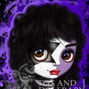 Paul Stanley from KISS special edition art print by de Shan