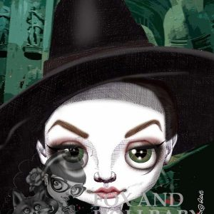Professor McGonagall special edition print by de Shan