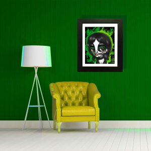 Peter Criss from KISS special edition art print