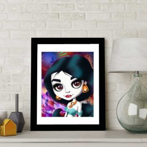 Princess Jasmine special edition art print by de Shan