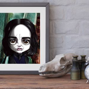 Professor Snape special edition print by de Shan