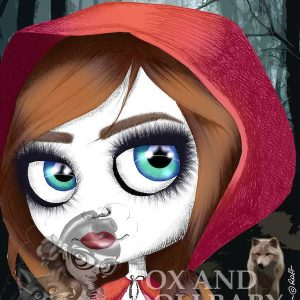 Red Riding Hood Special Edition Fairy Tale Art Print
