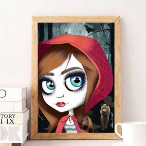 Red Riding Hood Special Edition Art Print