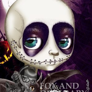 Jack Skellington special edition art print by de Shan