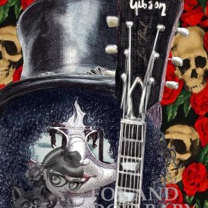 Slash from Guns and Roses Special Edition Art Print