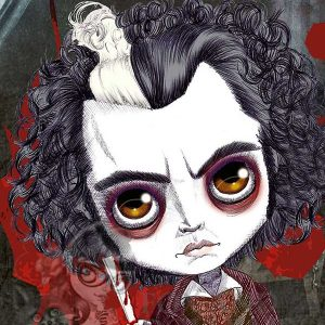 Johnny Depp as Todd Sweeny Special Edition Art Prin