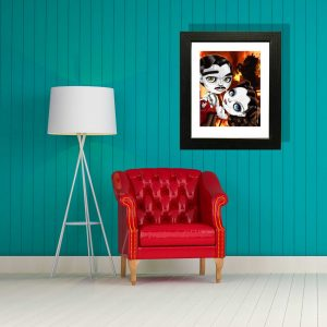 Scarlett and Rhett special edition art print by de Shan
