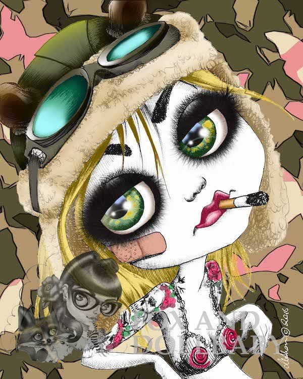 TANK GIRL Special Edition Art Print