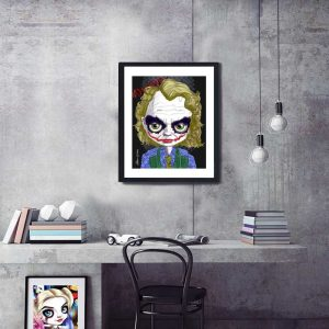 Heath Ledger as The Joker special edition art print